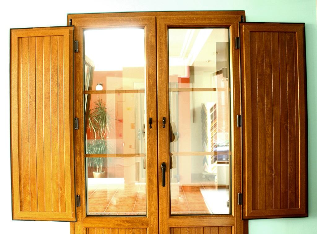 Ventanas pvc imitacion madera cheap ventanas aluminio for Ventanales de aluminio imitacion madera