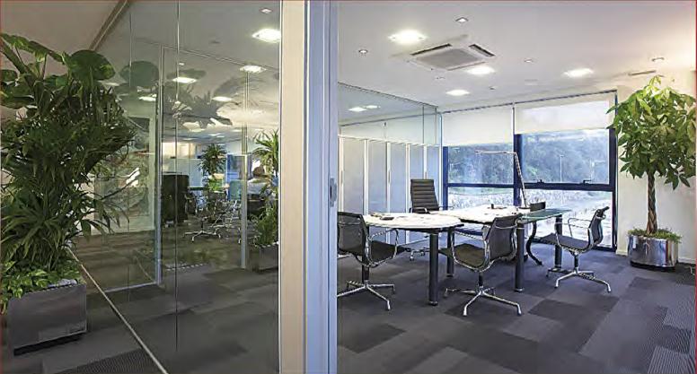 Mamparas de cristal para oficinas Cantabria